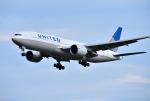 mojioさんが、成田国際空港で撮影したユナイテッド航空 777-224/ERの航空フォト(飛行機 写真・画像)