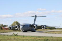 モモさんが、千歳基地で撮影したオーストラリア空軍 C-17A Globemaster IIIの航空フォト(飛行機 写真・画像)