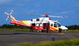 yutopさんが、鳥取空港で撮影した鳥取県消防防災航空隊 AW139の航空フォト(飛行機 写真・画像)