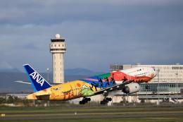 モモさんが、新千歳空港で撮影した全日空 777-281/ERの航空フォト(飛行機 写真・画像)