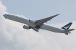 NIKEさんが、香港国際空港で撮影したキャセイパシフィック航空 777-367/ERの航空フォト(写真)
