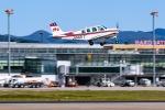 KAMIYA JASDFさんが、函館空港で撮影したジェイピーエー A36 Bonanza 36の航空フォト(写真)