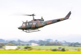KAMIYA JASDFさんが、八雲分屯基地で撮影した陸上自衛隊 UH-1Jの航空フォト(飛行機 写真・画像)