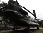 カップメーンさんが、ベトナム戦争証跡博物館(ホーチミンシティ)で撮影したアメリカ陸軍 CH-47 Chinookの航空フォト(写真)
