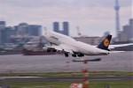 さもんほうさくさんが、羽田空港で撮影したルフトハンザドイツ航空 747-830の航空フォト(写真)
