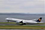 さもんほうさくさんが、羽田空港で撮影したルフトハンザドイツ航空 A340-642Xの航空フォト(写真)