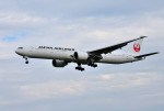 mojioさんが、成田国際空港で撮影した日本航空 777-346/ERの航空フォト(飛行機 写真・画像)