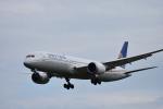 mojioさんが、成田国際空港で撮影したユナイテッド航空 787-9の航空フォト(飛行機 写真・画像)