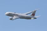 元青森人さんが、仙台空港で撮影した日本航空 787-8 Dreamlinerの航空フォト(写真)