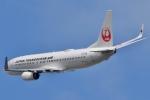 るかぬすさんが、小松空港で撮影した日本トランスオーシャン航空 737-8Q3の航空フォト(写真)