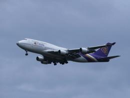 カップメーンさんが、スワンナプーム国際空港で撮影したタイ国際航空 747-4D7の航空フォト(飛行機 写真・画像)