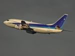 チャレンジャーさんが、羽田空港で撮影したユニカル・アヴィエーション 737-5L9の航空フォト(写真)