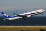 きんめいさんが、中部国際空港で撮影した全日空 767-381/ERの航空フォト(写真)