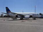 NIKEさんが、ビクトリアフォールズ空港で撮影したナミビア航空 A319-112の航空フォト(写真)