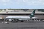 KAZFLYERさんが、成田国際空港で撮影したパキスタン国際航空 777-2Q8/ERの航空フォト(写真)