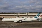 kikiさんが、成田国際空港で撮影したキャセイパシフィック航空 A350-1041の航空フォト(写真)
