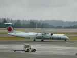 worldstar777さんが、シアトル タコマ国際空港で撮影したジャズ・エア DHC-8-402Q Dash 8の航空フォト(飛行機 写真・画像)