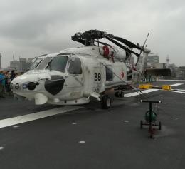 VICTER8929さんが、横浜海上防災基地で撮影した海上自衛隊 SH-60Kの航空フォト(飛行機 写真・画像)