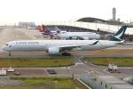 B14A3062Kさんが、関西国際空港で撮影したキャセイパシフィック航空 A350-1041の航空フォト(写真)