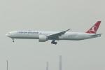 NIKEさんが、香港国際空港で撮影したターキッシュ・エアラインズ 777-3F2/ERの航空フォト(写真)