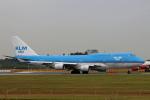 ミンミンさんが、成田国際空港で撮影したKLMオランダ航空 747-406Mの航空フォト(飛行機 写真・画像)