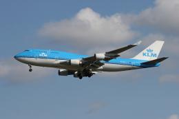 ミンミンさんが、成田国際空港で撮影したKLMオランダ航空 747-406の航空フォト(飛行機 写真・画像)