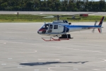 E-75さんが、函館空港で撮影した中日本航空 AS350B Ecureuilの航空フォト(写真)