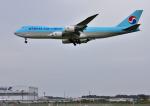mojioさんが、成田国際空港で撮影した大韓航空 747-8HTFの航空フォト(写真)