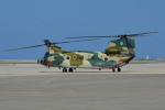 350JMさんが、那覇空港で撮影した航空自衛隊 CH-47J/LRの航空フォト(写真)