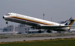 LEVEL789さんが、高松空港で撮影した日本エアシステム MD-81 (DC-9-81)の航空フォト(飛行機 写真・画像)
