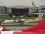 カップメーンさんが、ドンムアン空港で撮影したノックエア DHC-8-402Q Dash 8の航空フォト(写真)