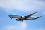 kenzy201さんが、リスボン・ウンベルト・デルガード空港で撮影したKLMオランダ航空 737-8K2の航空フォト(写真)