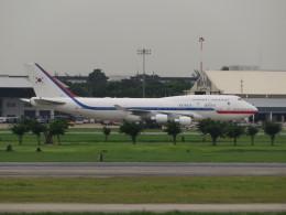 カップメーンさんが、ドンムアン空港で撮影した大韓民国空軍 747-4B5の航空フォト(飛行機 写真・画像)