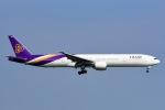 Yukipaさんが、スワンナプーム国際空港で撮影したタイ国際航空 777-3D7の航空フォト(写真)