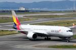 panchiさんが、関西国際空港で撮影したアシアナ航空 A350-941XWBの航空フォト(飛行機 写真・画像)