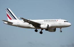 航空フォト:F-GRHN エールフランス航空 A319
