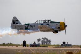 チャッピー・シミズさんが、ミラマー海兵隊航空ステーション で撮影したJohn Coller SNJ-5 Texanの航空フォト(飛行機 写真・画像)