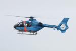 なごやんさんが、名古屋飛行場で撮影した福岡県警察 EC135P2+の航空フォト(写真)
