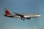 tassさんが、マイアミ国際空港で撮影したノースウエスト航空 A320-212の航空フォト(飛行機 写真・画像)