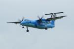 アングリー J バードさんが、福岡空港で撮影した天草エアライン DHC-8-103Q Dash 8の航空フォト(写真)