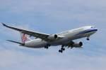 imosaさんが、羽田空港で撮影したチャイナエアライン A330-302の航空フォト(写真)
