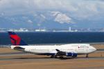 yabyanさんが、中部国際空港で撮影したデルタ航空 747-451の航空フォト(飛行機 写真・画像)