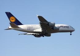 ミンミンさんが、成田国際空港で撮影したルフトハンザドイツ航空 A380-841の航空フォト(飛行機 写真・画像)