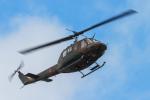 代打の切札さんが、伊丹駐屯地で撮影した陸上自衛隊 UH-1Hの航空フォト(写真)
