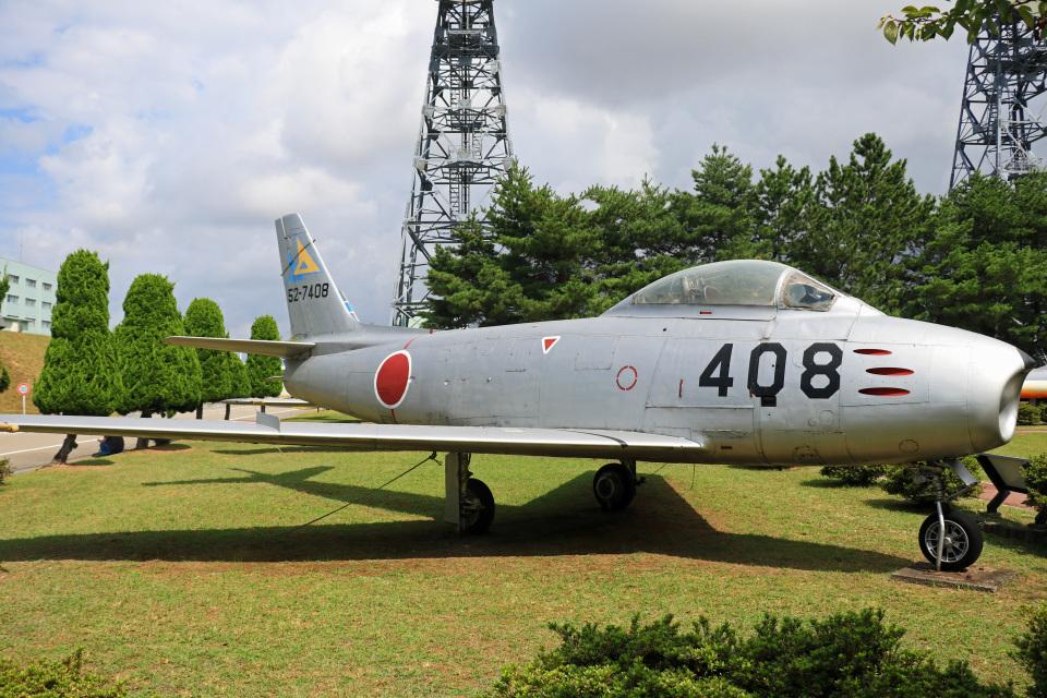 Wasawasa-isaoさんの航空自衛隊 North American F-86 Sabre (52-7408) 航空フォト