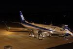 昔撮り鉄さんが、岡山空港で撮影した全日空 737-881の航空フォト(写真)