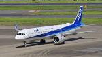 オキシドールさんが、羽田空港で撮影した全日空 A321-272Nの航空フォト(写真)