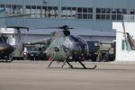 プラグマニアさんが、目達原駐屯地で撮影した陸上自衛隊 OH-6Dの航空フォト(写真)