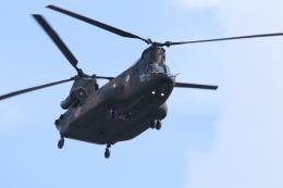 プラグマニアさんが、目達原駐屯地で撮影した陸上自衛隊 CH-47JAの航空フォト(飛行機 写真・画像)