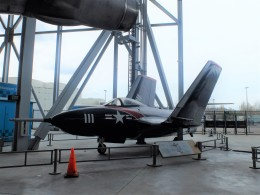 Smyth Newmanさんが、ミュージアムオブフライトで撮影したアメリカ海軍 F9F Pantherの航空フォト(飛行機 写真・画像)